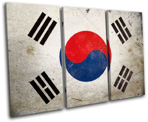 Abstract South Korean Maps Flags - 13-1174(00B)-TR32-LO
